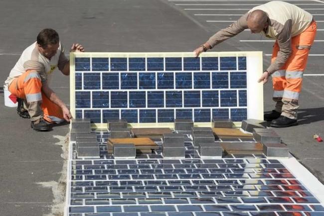 Francia plantea construir 1000 kilómetros de carreteras con paneles solares